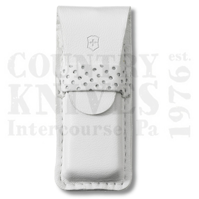 Buy Victorinox Swiss Army 4.0762.7 Tomo Pouch - White Leather at Country Knives.
