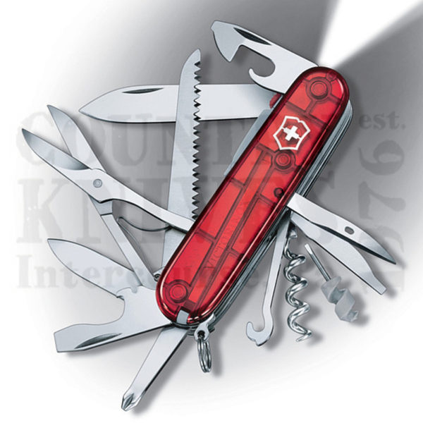 Victorinox Swiss Army 53271 Huntsman Lite Translucent Ruby