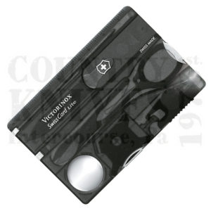 Victorinox   Swiss Army53333SwissCard Lite – Translucent Onyx