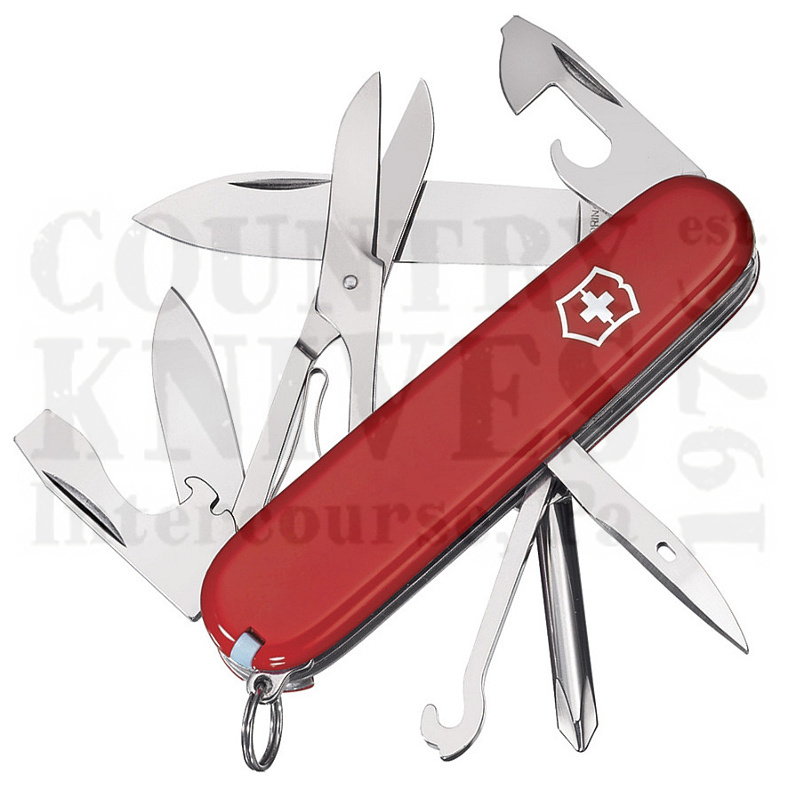 Buy Victorinox Swiss Army 53341 Super Tinker - Red at Country Knives.