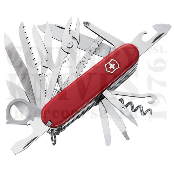Buy Victorinox Swiss Army 53501 SwissChamp - Red at Country Knives.