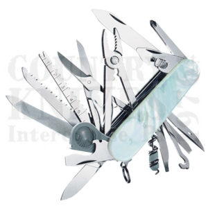 Buy Victorinox Swiss Army 53525 SwissChamp, Mother of Pearl at Country Knives.