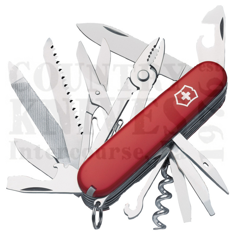 Buy Victorinox Swiss Army 53722 Handyman - Red at Country Knives.