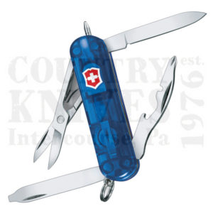 Buy Victorinox Swiss Army 53757 Midnite Manager - Translucent Sapphire at Country Knives.