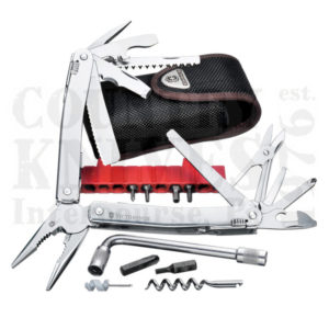Buy Victorinox Swiss Army 53804 SwissTool Spirit Plus - Tool Kit with Nylon Pouch at Country Knives.