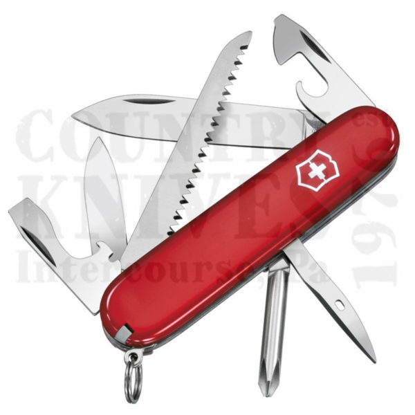 Buy Victorinox Swiss Army 53831 Hiker - Red at Country Knives.