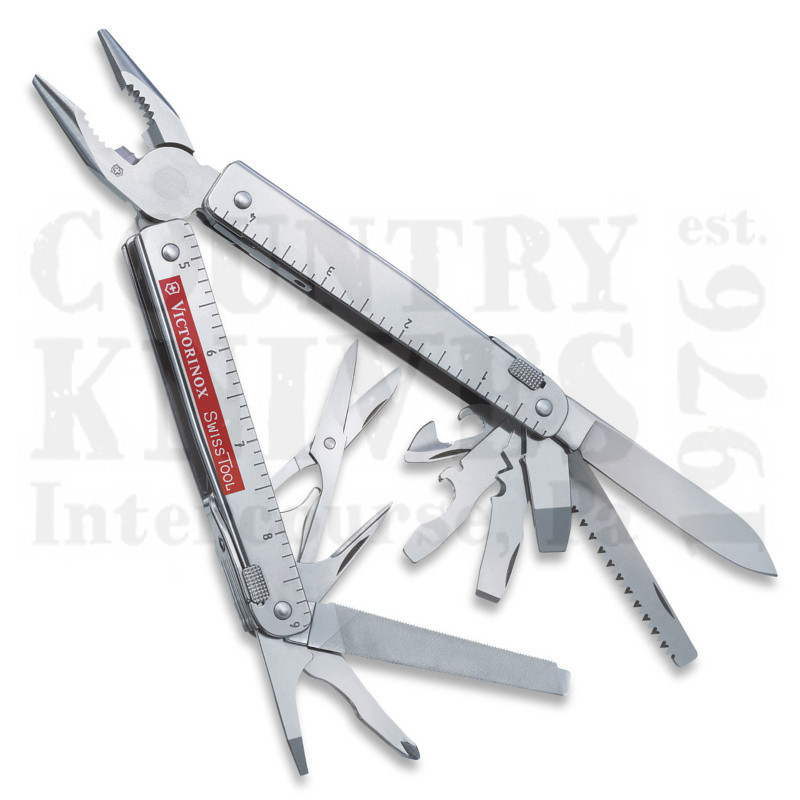 Buy Victorinox Swiss Army 53936 SwissTool X with Scissors -  at Country Knives.