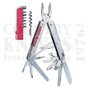 Buy Victorinox Swiss Army 53946 SwissTool CS Plus - Tool Kit with Leather Pouch at Country Knives.