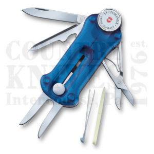 Buy Victorinox Swiss Army 53963 GolfTool, Translucent Sapphire at Country Knives.