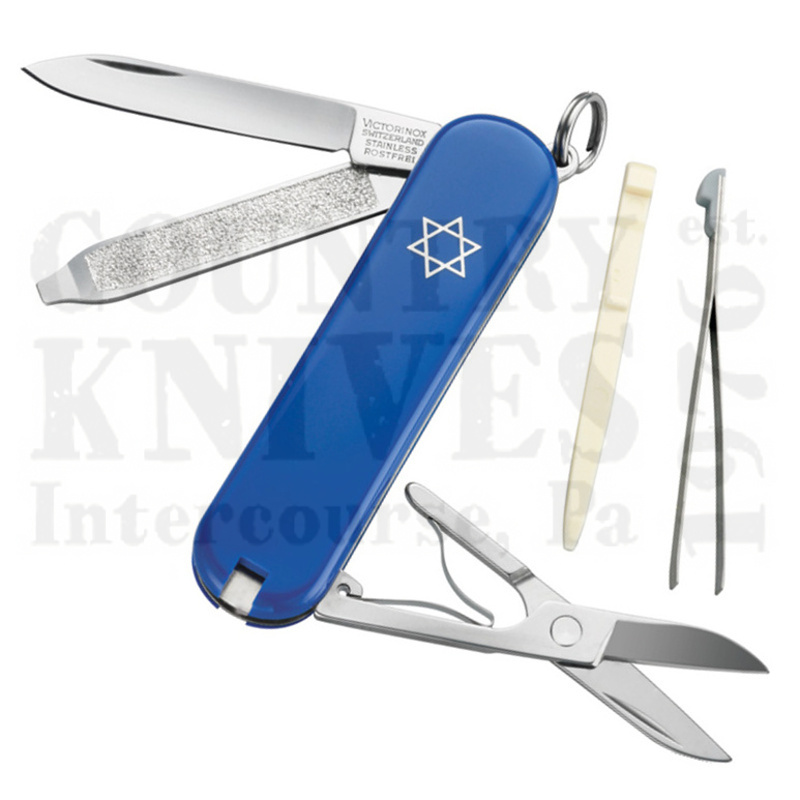 Buy Victorinox Swiss Army 54002 Classic SD - Star of David at Country Knives.