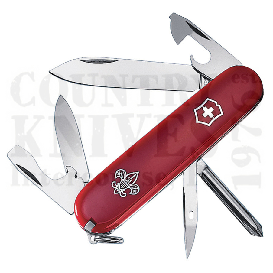 Buy Victorinox Swiss Army 54121 Boy Scout Tinker - Red at Country Knives.