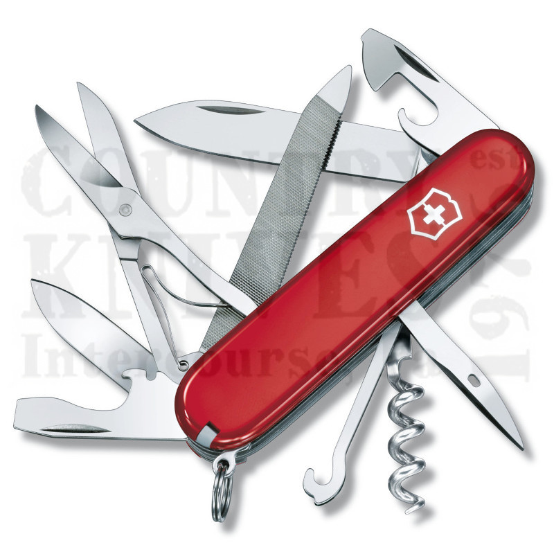 Buy Victorinox Swiss Army 54821 Mountaineer - Red at Country Knives.