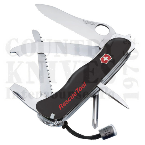 Buy Victorinox Swiss Army 54900 Rescue Tool - Black Fibrox at Country Knives.
