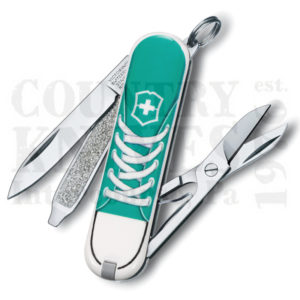 Buy Victorinox Swiss Army 56120 Classic SD, Sneakers at Country Knives.
