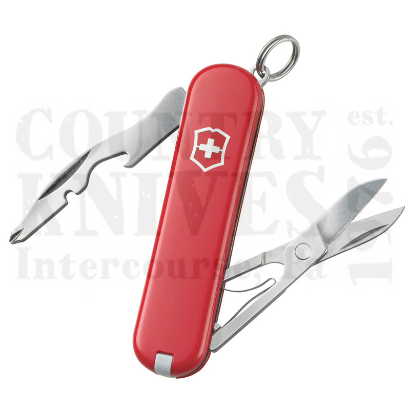 Buy Victorinox Swiss Army 58128 Jetsetter - Red at Country Knives.
