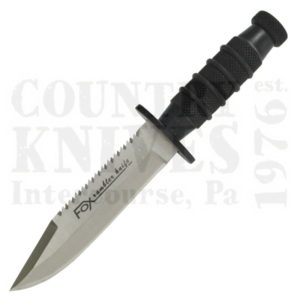 Buy Fox  02FX129 Mini Survival, Black at Country Knives.