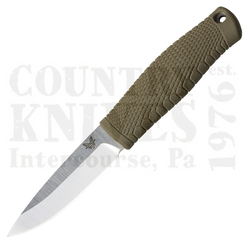 Buy Benchmade  BM200 Puukko - CPM 3V / Leather at Country Knives.