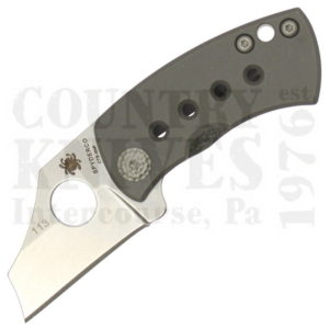Buy Spyderco  C236TIP McBee - CTS-XHP /  Titanium at Country Knives.