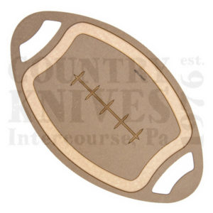 "Buy Epicurean Cutting Surfaces  EPFOOTBALL0301 EPFOOTBALL0301 - Nutmeg / 20"" x 12"" x ¼"" at Country Knives."
