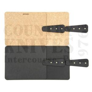Epicurean Cutting SurfacesEPR21140202Riveted Handled Pizza Peel – Slate / 21″ x 14″