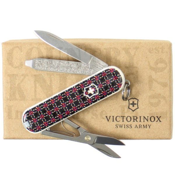 Buy Victorinox Swiss Army 53001CKQUILT1 Classic SD - Quilt 2016 at Country Knives.