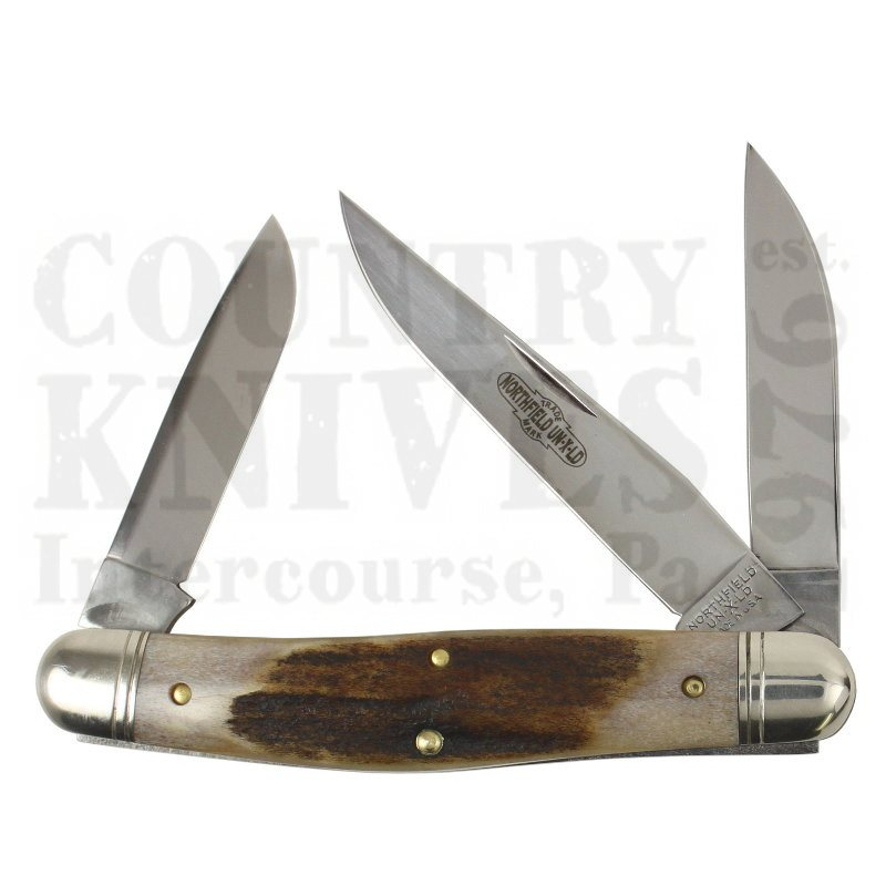 Buy Great Eastern Northfield GE-828318SS Dixie Stockman - Sambar Stag at Country Knives.