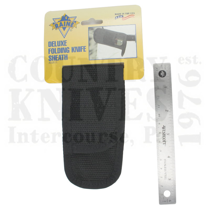 Buy Raine  05R11 Deluxe Folding Knife Sheath - #11 at Country Knives.