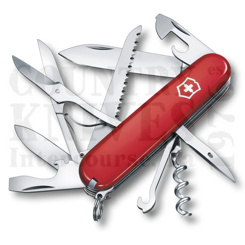 Buy Victorinox Swiss Army 1.3713 Huntsman - Red at Country Knives.