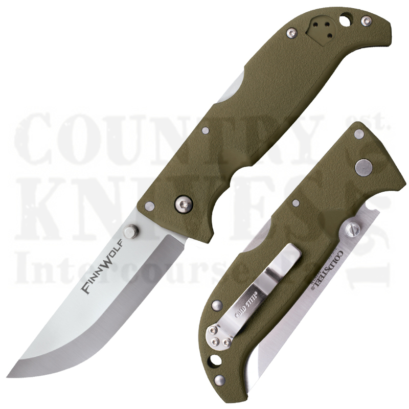 Buy Cold Steel  20NPFZ Finn Wolf - OD Green at Country Knives.