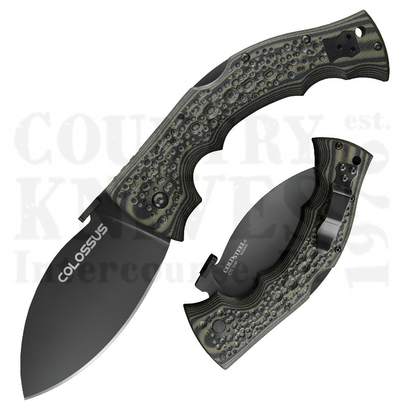 Buy Cold Steel  28DWB Colossus II - W-DLC / CTS XHP at Country Knives.