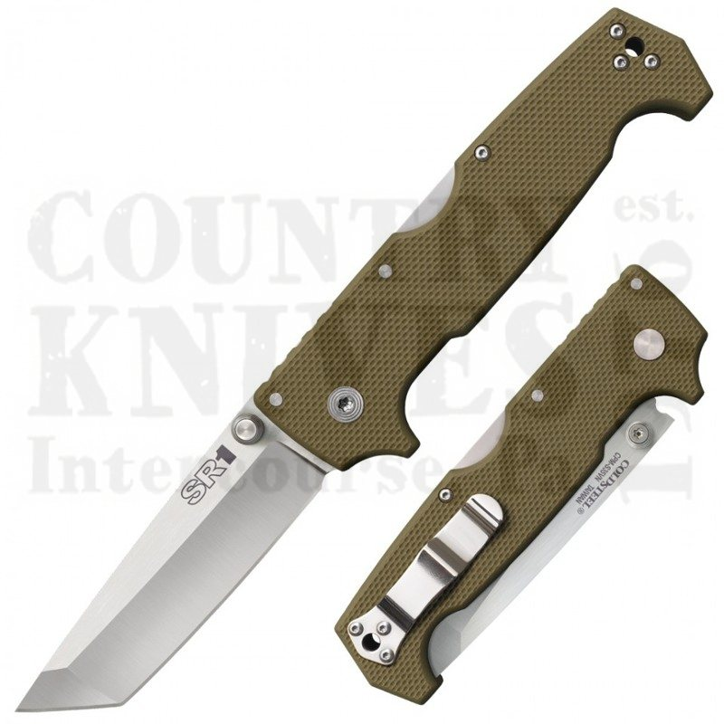 Buy Cold Steel  62LA SR1 Tanto - G-10 at Country Knives.