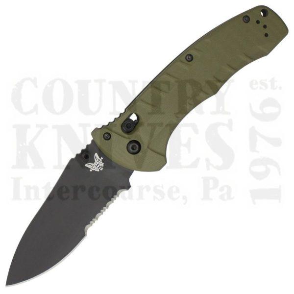 Buy Benchmade  BM980SBK Turret - OD Green G-10 / Cerakote / ComboEdge at Country Knives.