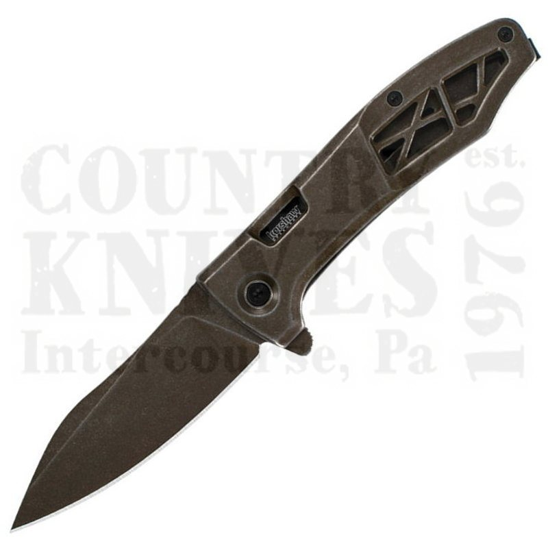Buy Kershaw  K3475 Boilermaker - Brown PVD Coating at Country Knives.