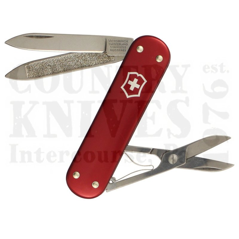 Buy Victorinox Swiss Army 0.6200.10 Companion - Red Alox at Country Knives.