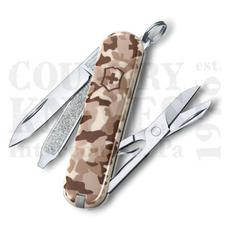 Buy Victorinox Swiss Army 0.6223.941US2 Classic SD - Desert Camouflage at Country Knives.
