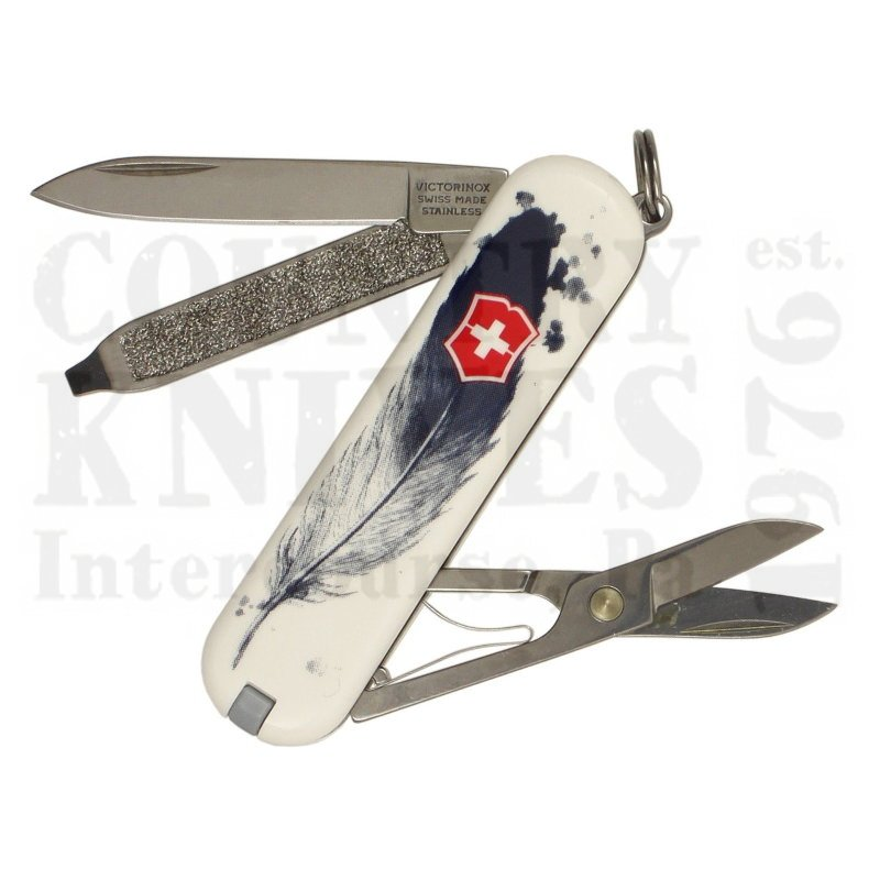 Buy Victorinox Swiss Army 0.6223.L1605US2 Classic SD 2016 - Light As A Feather at Country Knives.