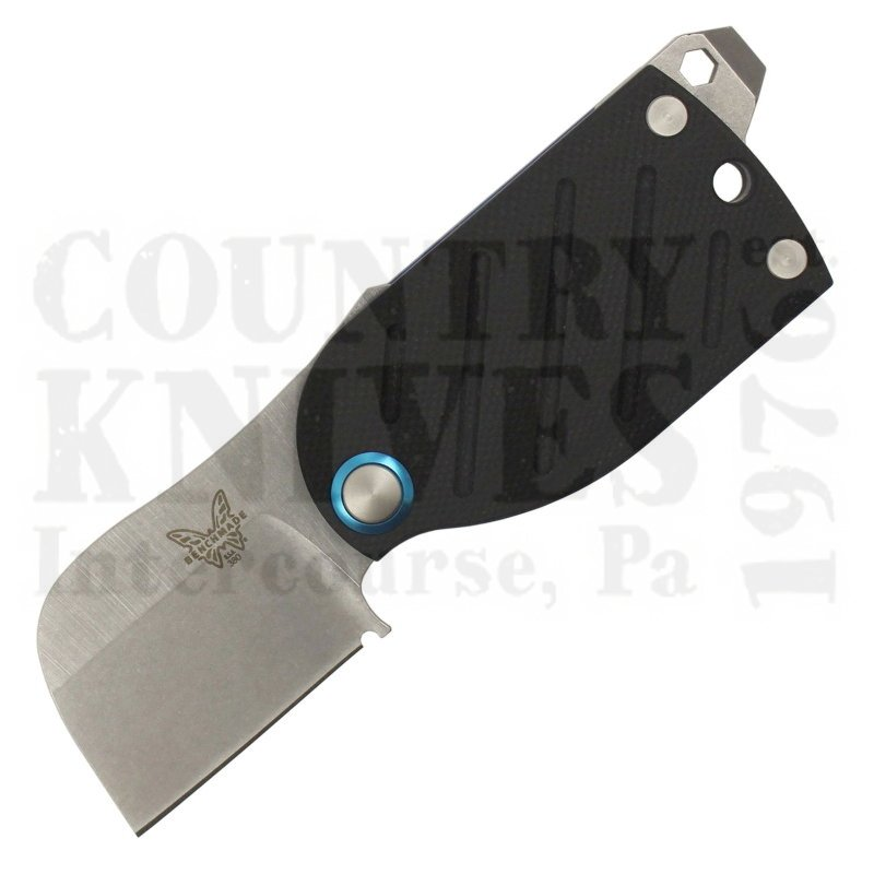 Buy Benchmade  BM380 Aller - Black & Blue G-10 at Country Knives.