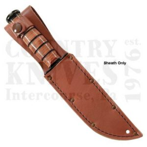 Buy Ka-Bar  KB1217I Plain Sheath - Leather at Country Knives.