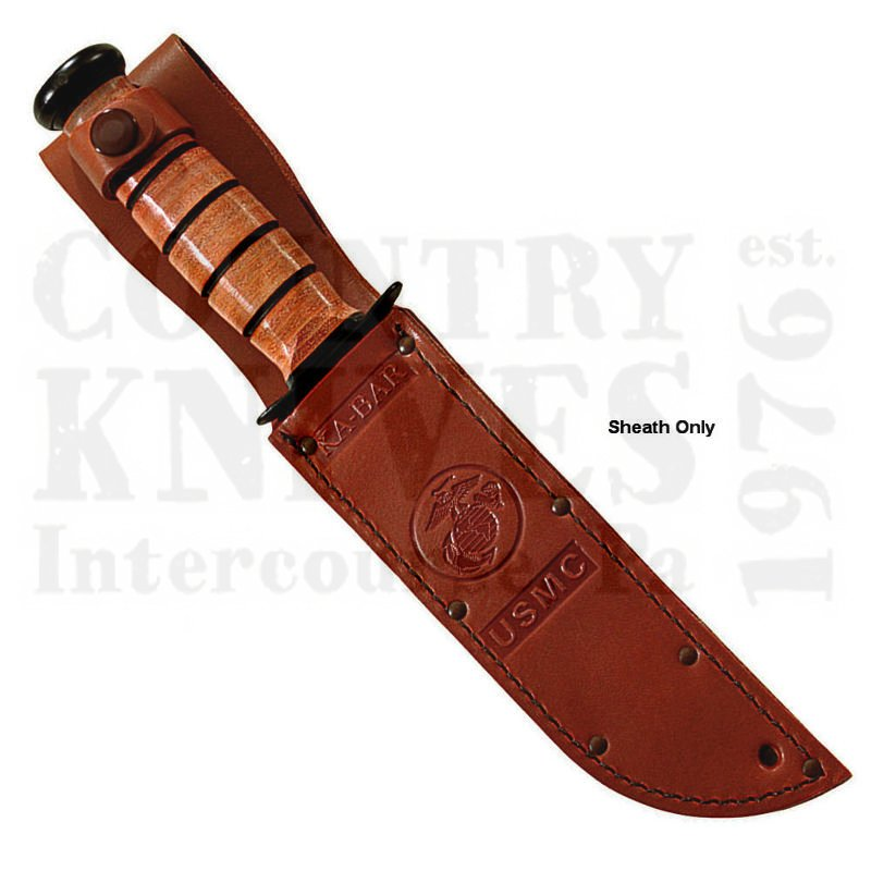Buy Ka-Bar  KB1217S USMC Sheath - Leather at Country Knives.