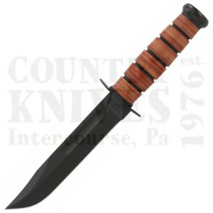 Buy Ka-Bar  KB1220 US ARMY Fighter - Straight / Leather Sheath at Country Knives.