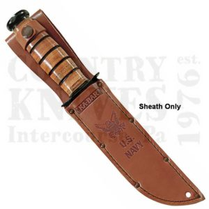 Buy Ka-Bar  KB1225S US NAVY Sheath - Leather at Country Knives.