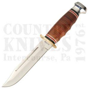 Ka-Bar1235Marine Hunter – Stacked Leather