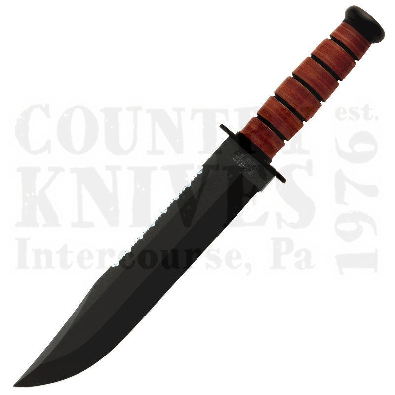 Buy Ka-Bar  KB2217 Big Brother - Leather Handle at Country Knives.