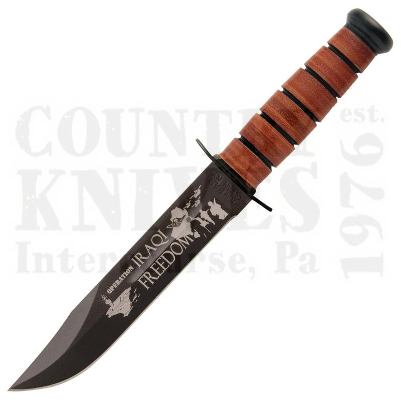 Buy Ka-Bar  KB9127 Operation Iraqi Freedom - US ARMY at Country Knives.