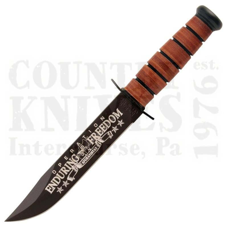 Buy Ka-Bar  KB9170 Operation Enduring Freedom - Afghanistan - US NAVY at Country Knives.