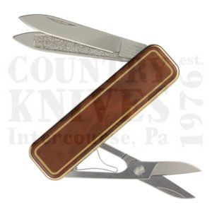 Buy Victorinox Swiss Army 0.6210.86 Classic De Luxe - Brown Marbled Cloisonné at Country Knives.