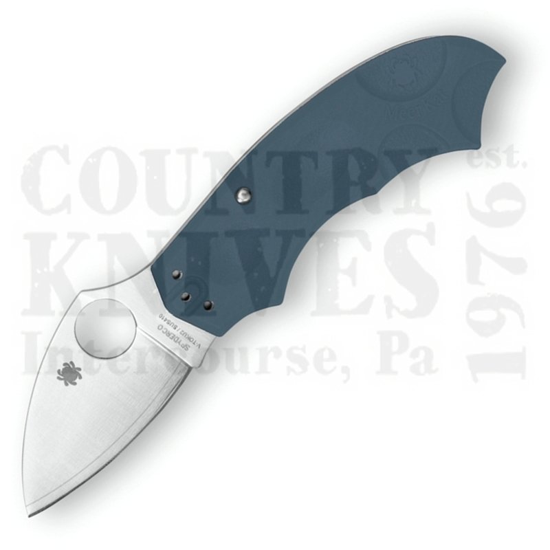 Buy Spyderco  C64PBLE MeerKat - LIGHT BLUE FRN / V-Toku2 at Country Knives.