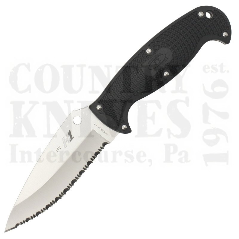 Buy Spyderco  FB24SBK2 Jumpmaster2 - H1 / SpyderEdge at Country Knives.