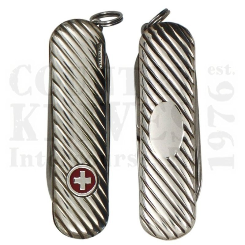 Buy Victorinox Swiss Army SERENE6 Classic SD - Sterling / Flag at Country Knives.