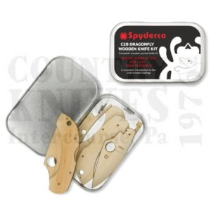 Buy Spyderco  WDKIT1 Wooden Knife Kit -  at Country Knives.